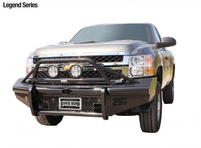 Chevrolet 2500 3500 HD Ranch Hand Legend Bullnose Bumper