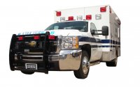 Ambulance Emergency Vehicle Ranch Hand Push Bar