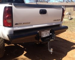 Ranch Hand Legend Back Bumper