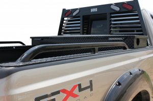 Ford Superduty Ranch Hand Hauler and bedrails