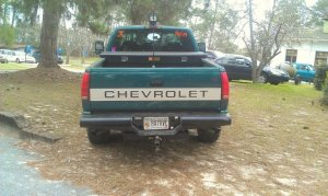 Ranch Hand Rear Bumper